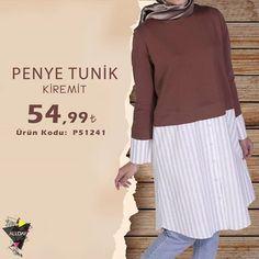 Modasını kaybetmeyen ikili tek parça #tunik bu #yaz da çok giyilecek gibi duruyor… : )