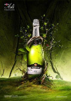 Martini Asti - Elements by Peter Jaworowski, via Behance