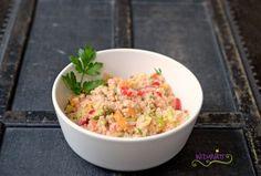 Couscous Salat mit Melone & Erdbeeren - http://www.widmatt.ch/couscous-salat-mit-melone-wir-retten-was-zu-retten-ist/
