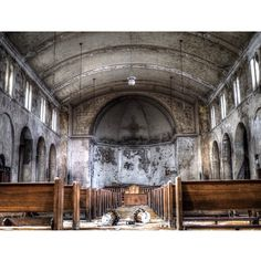 Beautiful Abandoned church in Detroit from 1923.  http://instagram.com/panog/