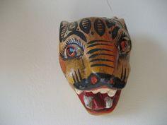 Mini jaguar mask, State of Quintana Roo, MX