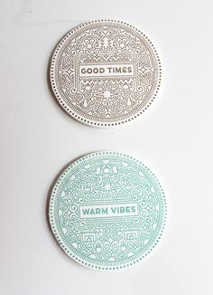 Creative Winter Greetings #card #design #typography #line #vector #graphicdesign #greetings #round