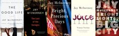Beyond the Brat Pack: The Books of Jay McInerney