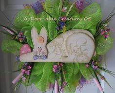 Moving Sale 50% OFF..Easter/Spring Bunny by ADoorableCreations05