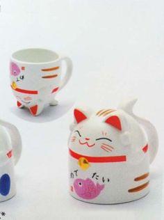Maneki Neko Tea Cup PINK - Japanese Happy Cat Tea Cup , http://www.amazon.com/dp/B001VDWI1E/ref=cm_sw_r_pi_dp_QFKbrb0FTNQMX