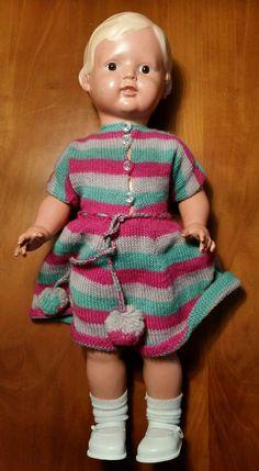 "Große alte Schildkröt Puppe"" Christel"" 50/56 Hand kaputt Puppendoktor   eBay"