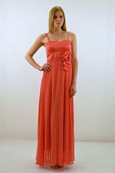 Φόρεμα μακρύ, με ράντες