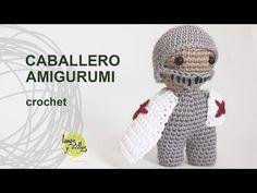Tutorial Caballero Amigurumi Crochet o Ganchillo - YouTube