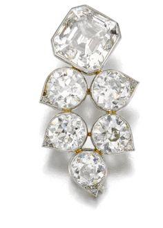 DIAMOND BROOCH, 'FLEUR', SUZANNE BELPERRON, 1932 - 1955