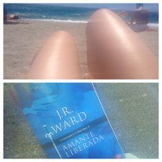 Cargando energías... Día de sol y relax... En compañía de Payne, Vishous y toda la Hermandad!!! ;) #BDB #libro #romance #paranormal