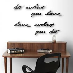 Umbra Mantra Wall Decoration for £35.00 at www.lisaangel.co.uk