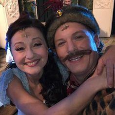 Újra együtt! Kékkovács Marával!!! Liza és Zsupán!!! ❤️❤️❤️ (kicsit árnyékos lett a kép... De ilyenek voltak a fények...) #pellerkaroly #operettszinhaz #operett #maricagrofno #grafinmariza #kalmanimre #emmerichkalman #liza #zsupan #kekkovacsmara