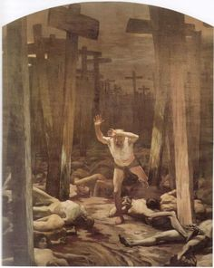 The Wandering Jew by Samuel Hirszenberg
