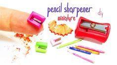 Miniature pencil sharpener - DIY
