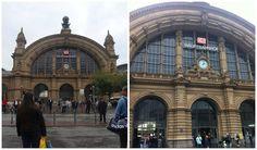 Dicas práticas para viajar de trem e ônibus na Alemanha - Frankfurt Hauptbahnhof