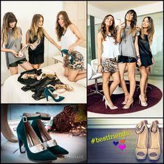 Produção com as amigas não tem preço! ❤️☺️ #camminare #shoes #love #bestfriends #moda #produção