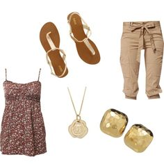SweetSummerTime, created by horselover0613 on Polyvore