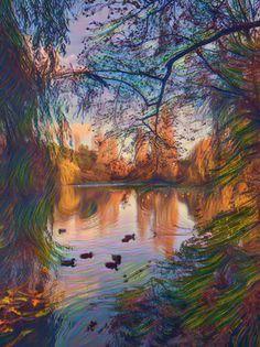 Riverside walker Pinterest Co, Artsy, Painting, Painting Art, Paintings, Painted Canvas, Drawings