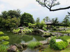 """This is my favourite season in the garden,"" said Shimazu Nariakira."