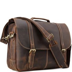 Through providing top-of-the-line quality leather bags at the most affordable prices, we hope that we may add just the right amount of quality to your life. Leather Briefcase, Leather Bag, Briefcases, Types Of Bag, Classic Leather, Messenger Bag, Satchel, English, Bags