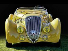 Peugeot, I think this is a 402 Darl Mat.If not, let me know and I will ch… Peugeot, I think this is a 402 Darl Mat. Lamborghini, Ferrari, Maserati, Bugatti, Classy Cars, Sexy Cars, Hot Cars, Luxury Sports Cars, Jaguar