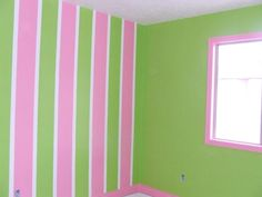 Painting my room tomorrow; I think stripes on every wall will look even better!