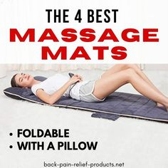 The best heated and foldable massage mats for muscle pain relief, back pain, stress relief and blood circulation problems - 2020 reviews