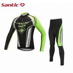 48.66$  Buy here - http://alizpz.worldwells.pw/go.php?t=32754600271 - 2016 SANTIC Spring Autumn PRO Cycling Jersey Men Racing Team Triathlon MTB Road Bike Bicycle Jerseys Shirts Cycling Clothing 48.66$