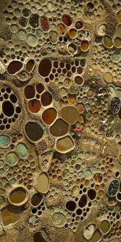 Aerial photography of saltworks in Niger by George Steinmetz, from BBC, http://www.sciencefocus.com/ #holes #science