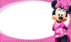 Tarjetas Minnie - Invitaciones Minnie- Marcos para fotos Minnie