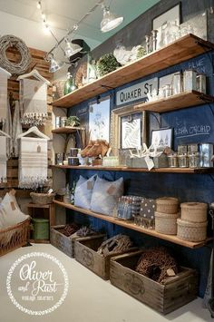 Home Decor Showroom Display Ideas for a Store | ... store displays rust boutique stores shop ideas shop displays gift