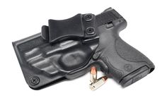 Smith & Wesson M&P Shield 9MM/.40 w/Red Crimson Trace Laser IWB KYDEX Holster Find our speedloader now!  http://www.amazon.com/shops/raeind