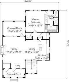Hookset Hideaway - Caldwell/Cline Architects   Southern Living House Plans