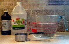 Ingredients for Anti-Yeast Dip.
