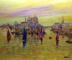 Venise Mystere, Painting, Duaiv