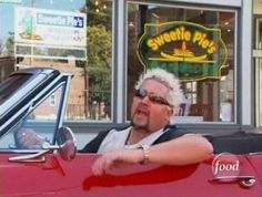 Diners, Drive ins and Dives visits Sweetie Pie's