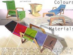 Chair design WILLIAM BLAKE Design