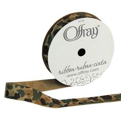 This tantalizing Offray Camouflage Grosgrain Ribbon is a staple among crafters, scrapbook enthusiasts, seamstresses or anybody. Soldier Party, Joanns Fabric And Crafts, Grosgrain Ribbon, Craft Stores, Camouflage, Floral Design, Creative, Gifts, Color