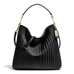 The Madison Hobo In Pintuck Leather from Coach