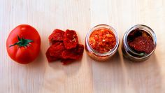 Save some of summer's best for later by pickling, canning, and oven-drying.