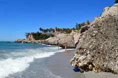 Playa El Chorrillo, Nerja - Costa del Sol (Espagne)