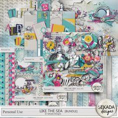 Personal Use :: Bundled Deals :: Like The Sea - Bundle