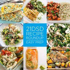 21DSD Recipe Roundup | Easy Prep | The 21-Day Sugar Detox by Diane Sanfilippo