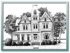 Build a Brand new house from Old plans some day.  VF3436 Galloway  Victorians and Farmhouses Collection
