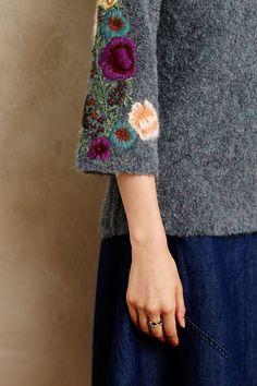 Rosevine Sweater Tunic - anthropologie.com