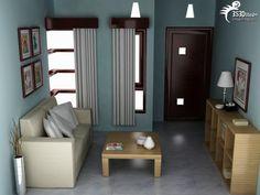 Interior Rumah Minimalis Sofa Ruang Tamu