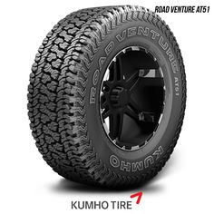 Kumho Road Venture AT51 LT 305/70R16 124/121R BW 305 70 16 3057016