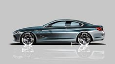 BMW 6 Series Coupe Concept Design Sketch - Car Body Design