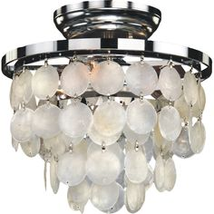 Glow Lighting Bayside 3 Light Flush Mount