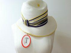 Designer Frank Olive Hat for Emme Boutique 1960's by BrecksVintage, $35.00